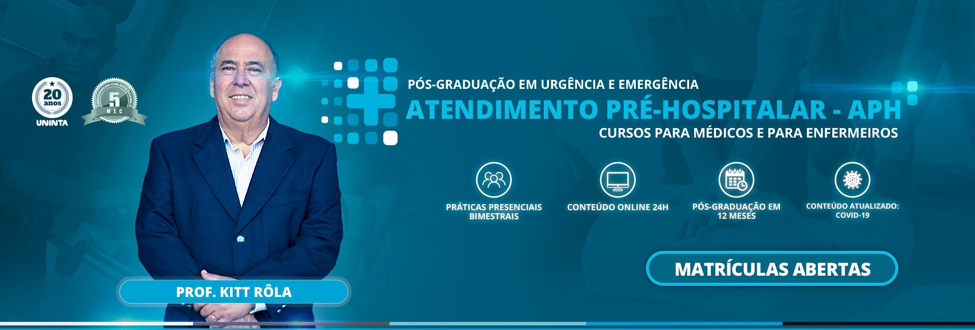 Pós-graduação em Urgência e Emergência - Saiba mais!
