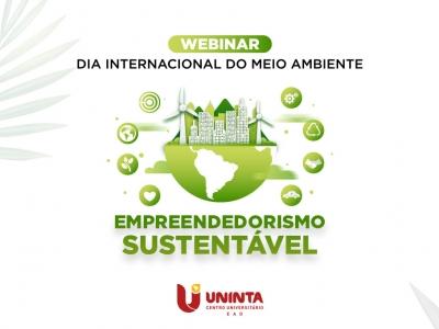 Curso de Biologia EaD Flex promove Webinar sobre Empreendedorismo Sustentável; Inscrições estão abertas