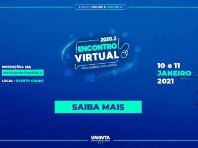 Polo Sobral abre inscrições para o Encontro Virtual 2020.2