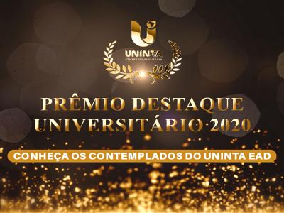 Estudantes do UNINTA EaD são contemplados com Prêmio Destaque Universitário