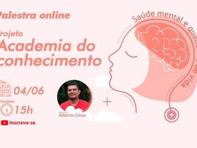 UNINTA EAD: Estão abertas as inscrições para palestra online sobre Saúde Mental e Qualidade de Vida