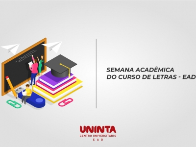Letras EaD promove a II Semana Acadêmica