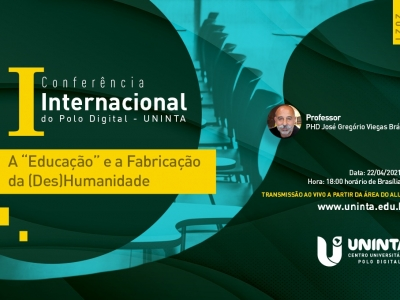 I Conferência Internacional do Polo Digital UNINTA acontece na quinta-feira, 22