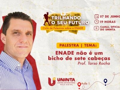 """Polo Digital do UNINTA realiza a palestra """"ENADE não é um bicho de sete cabeças"""""""