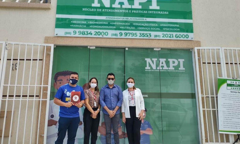 Polo EaD Flex de Sobral firma parceria com o NAPI