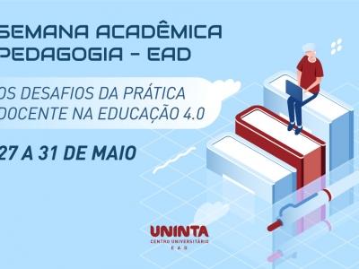 Pedagogia EAD realiza a V Semana Acadêmica